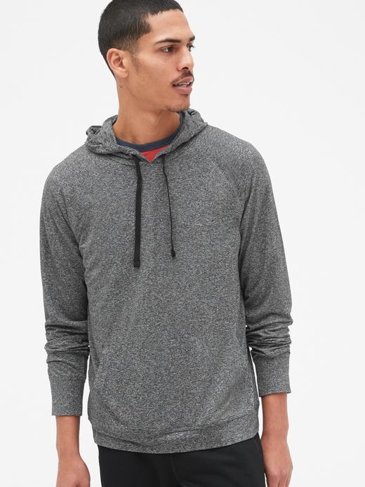 GapFit Kapüşonlu Jarse Sweatshirt