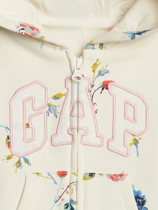 Gap Logo Çiçekli Sweatshirt
