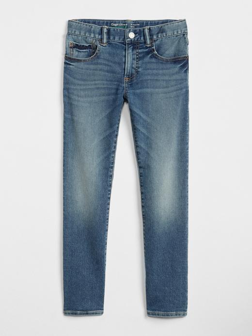 Erkek Çocuk orta yıkama Superdenim Fantastiflex Slim Jean Pantolon