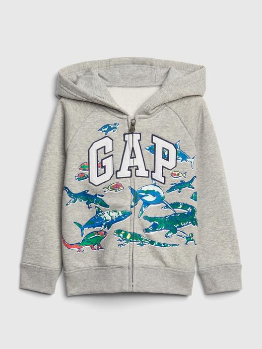 Gap Logo Desenli Sweatshirt
