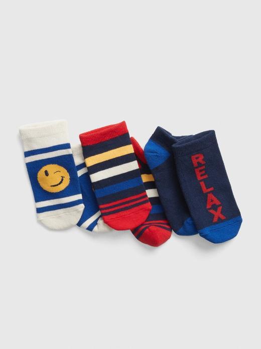3'lü Desenli Çorap