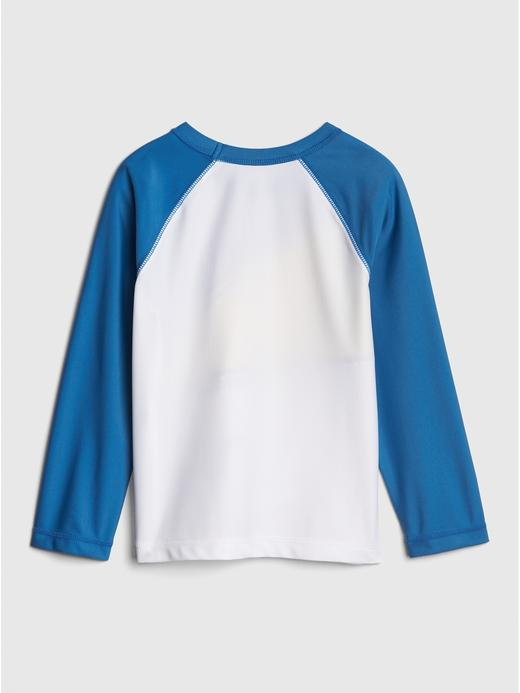 Bebek Beyaz 3D Desenli Mayo T-Shirt