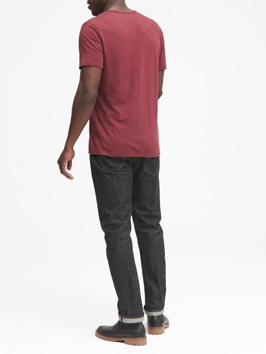 Erkek Beyaz Kısa Kollu Saf Pamuklu T-Shirt