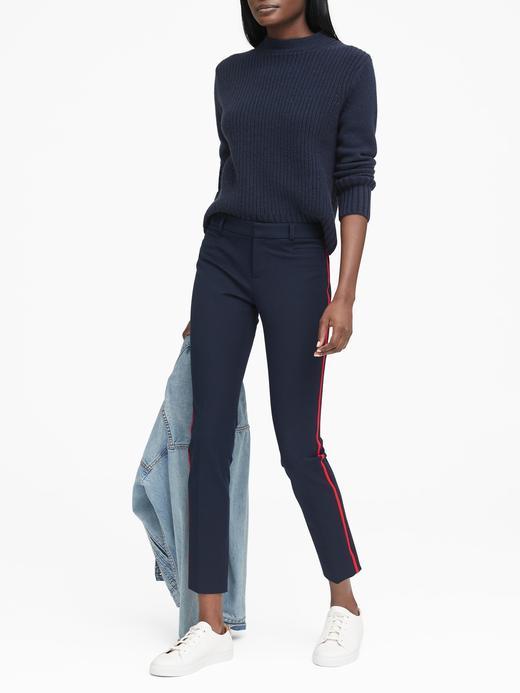 Sloan Skinny-Fit Yanları Çizgili Pantolon