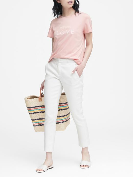 Supima® Pamuklu Baskılı T-Shirt