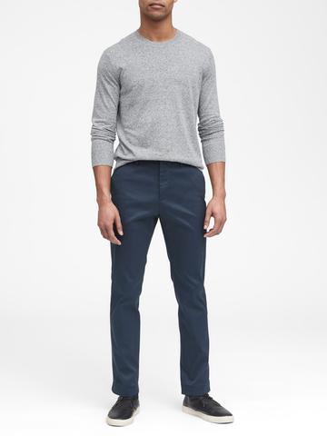 Erkek Yeşil Aiden Slim Fit Chino Pantolon