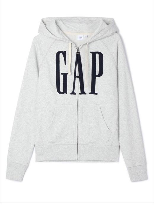 Gap Logo Fermuarlı Sweatshirt