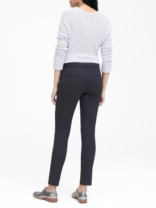 Sloan Skinny-Fit Puantiyeli Pantolon