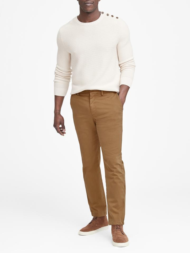 Aiden Slim Authentic Chino Pantolon