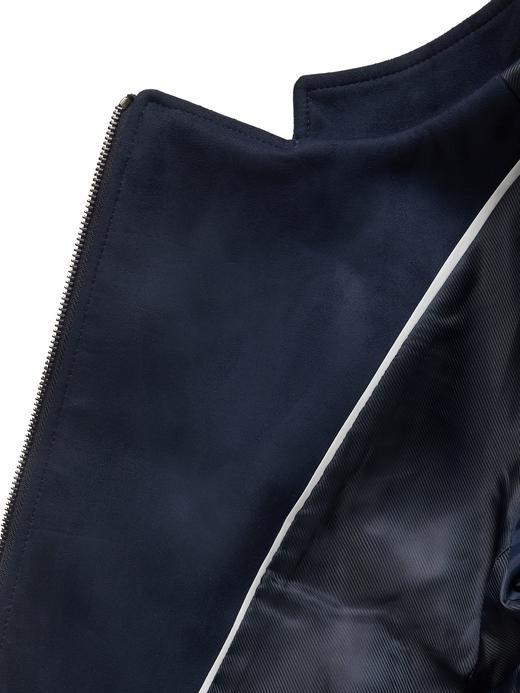 Kadın pembe Vegan Süet Ceket