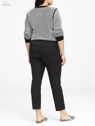 Kadın Mavi Sloan-Fit Slim Pantolon
