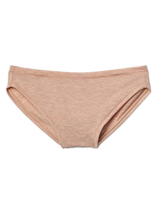 Kadın ten Düşük Belli Bikini Külot