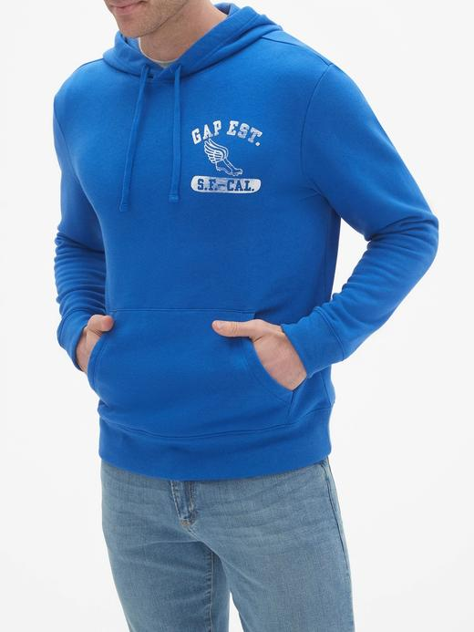 Gap Logo Athletic Kapüşonlu Sweatshirt