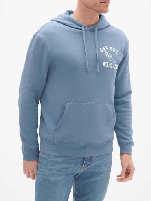 Gap Logo Athletic Kapüşonlu Sweatshirt
