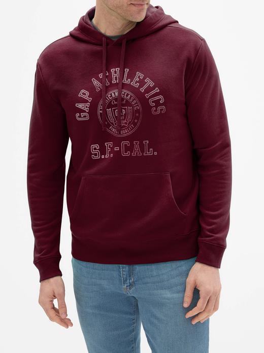 Athletic Gap Logo Kapüşonlu Sweatshirt