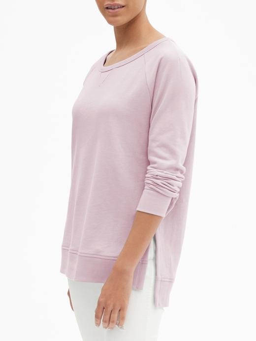 Havlu Kumaşı Tunik Sweatshirt
