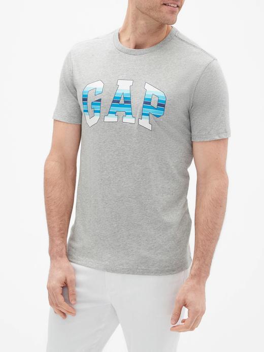 Gap Logo Baskılı Jarse T-Shirt