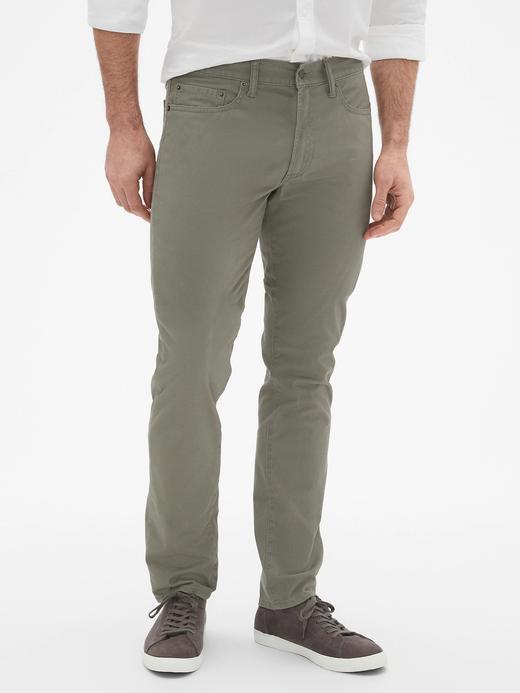 Slim Fit Gapflex Streç Pantolon