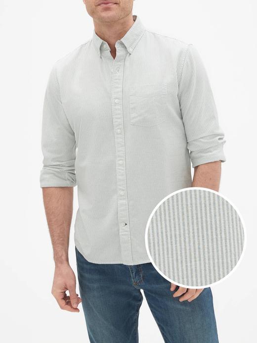Oxford Uzun Kollu Gömlek