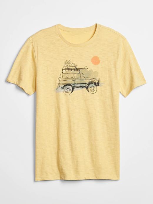 Baskılı Sıfır Yaka Jarse T-Shirt