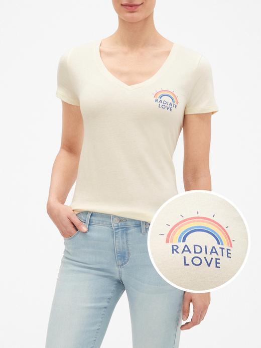 Favorite Baskılı V Yaka T-Shirt