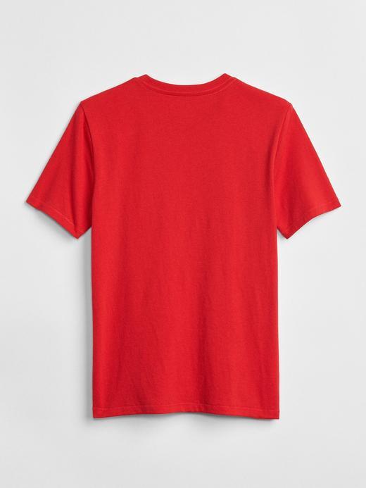 Erkek Çocuk parlak mavi GapKids | DC™ Baskılı T-Shirt