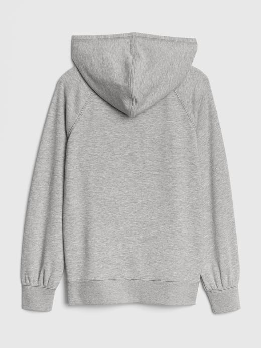 Baskılı Kapüşonlu Sweatshirt