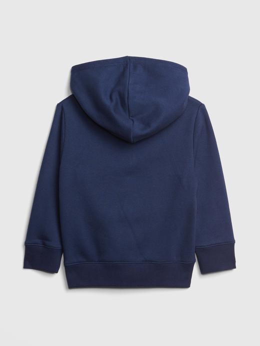 Bebek mavi 3D Baskılı Kapüşonlu Sweatshirt
