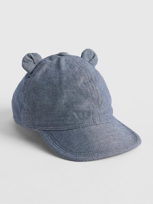Ayıcık Kulaklı Şambre Şapka