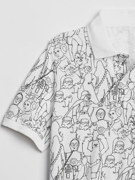GapKids | Star Wars Desenli Kısa Kollu T-Shirt