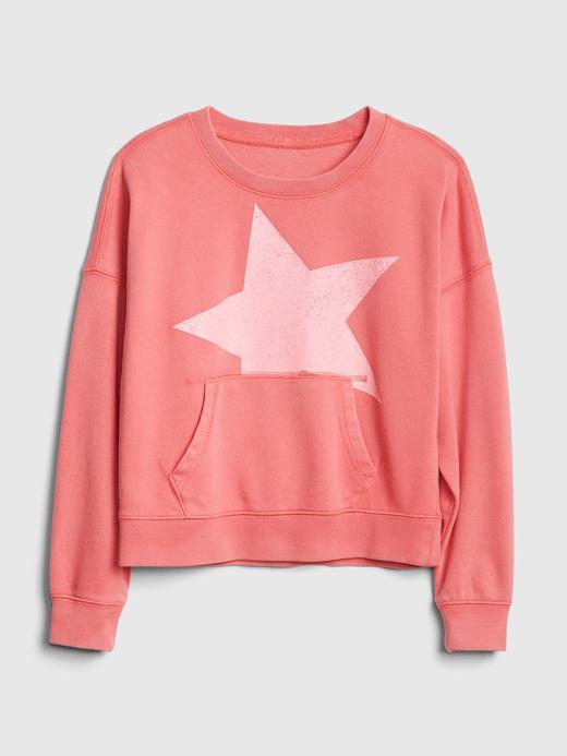 Yıldız Baskılı Sweatshirt