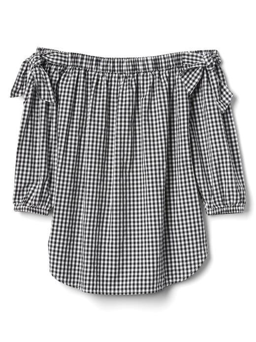 Açık Omuzlu Tunik Gömlek