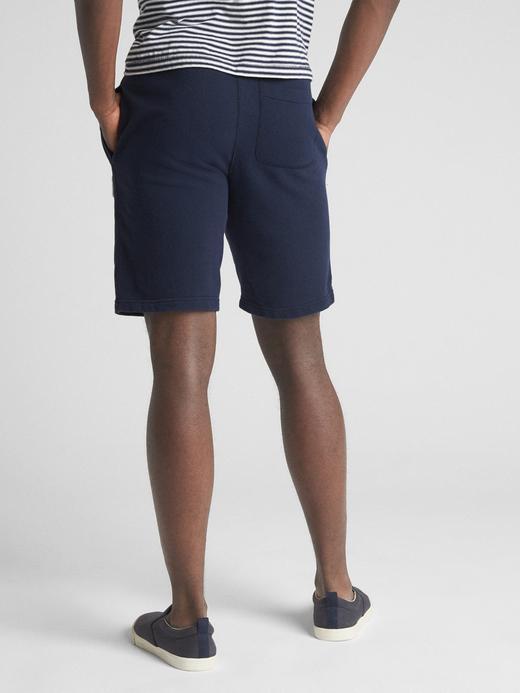 Erkek kırçıllı gri Erkek Gap Logo Şort