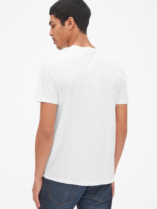 Erkek siyah Klasik T-Shirt