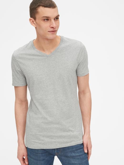Klasik V Yaka T-Shirt