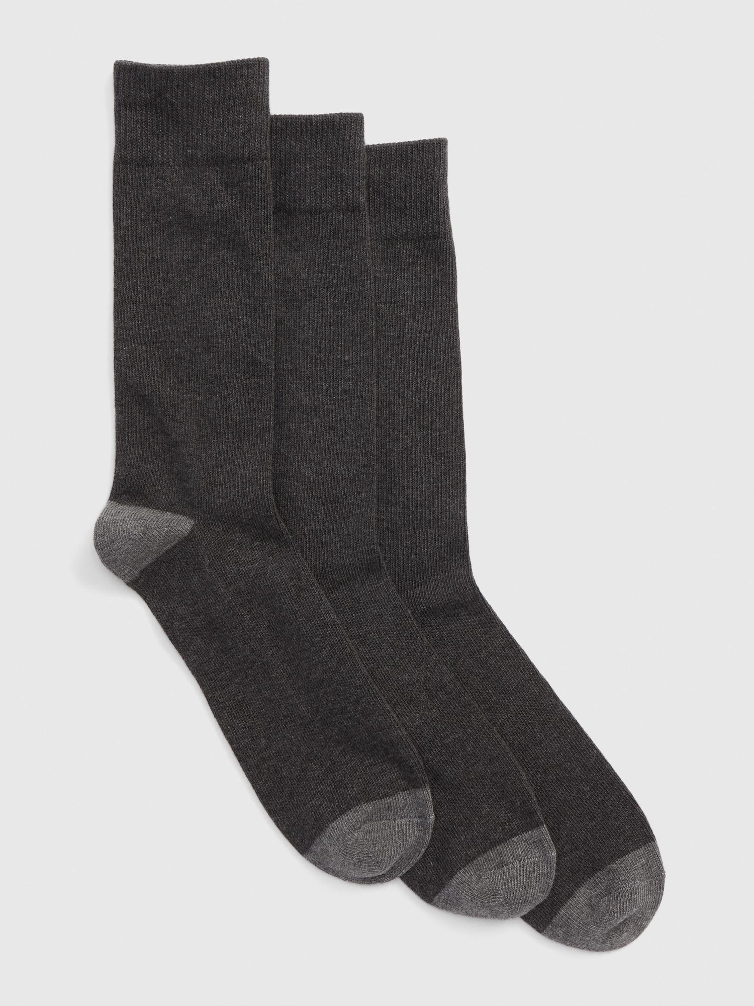 GAP gri 3'lü Çorap