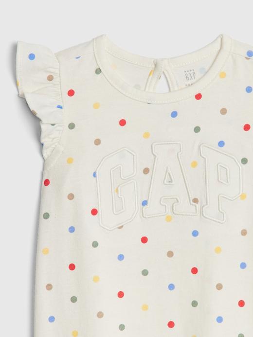 Gap Logo Fırfırlı Tulum