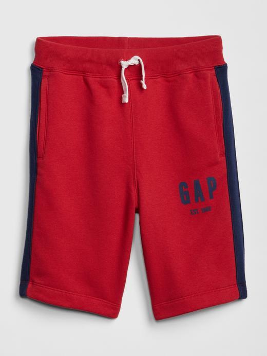 Erkek Çocuk kırmızı Erkek Çocuk Gap Logo Şort