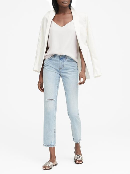 Kadın beyaz Askılı Bluz