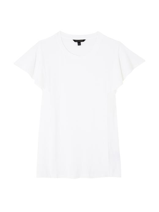 Kadın beyaz Yumuşak Dokulu Streç Bluz