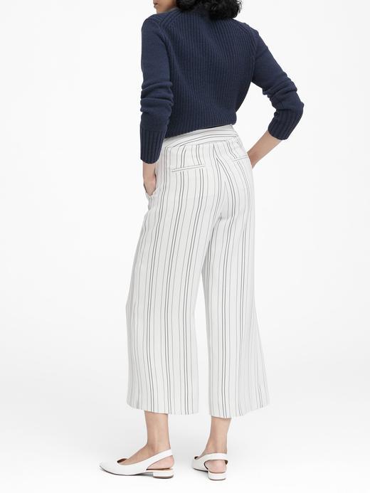 Yüksek Belli Wide Lef Pantolon