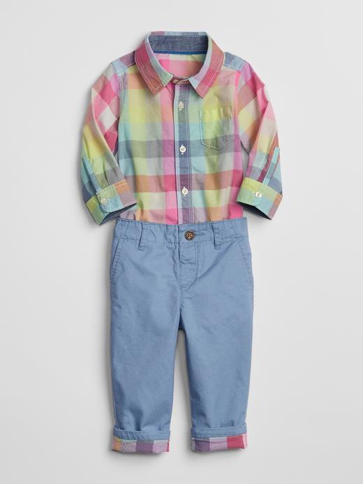Gömlek Pantolon Takım
