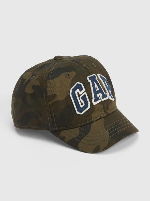 Gap Logo Kamuflaj Şapka