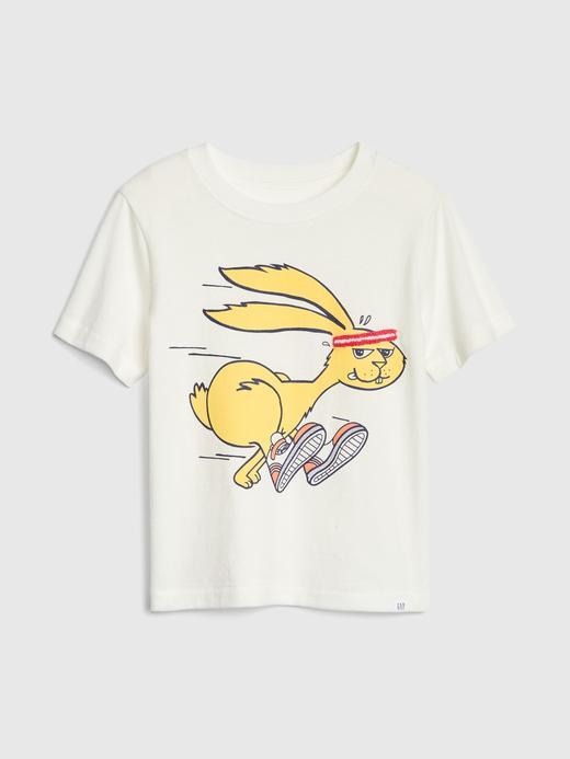 3D Desenli T-Shirt