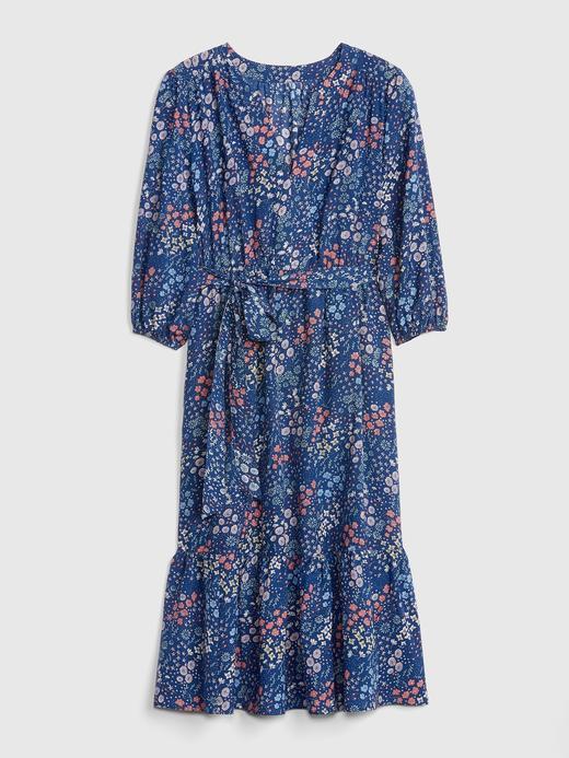 Çiçekli Elbise