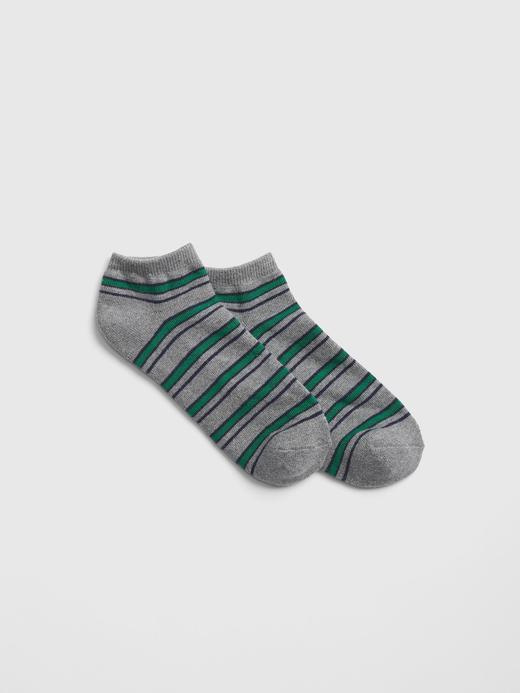 Bilekte Çizgili Çorap