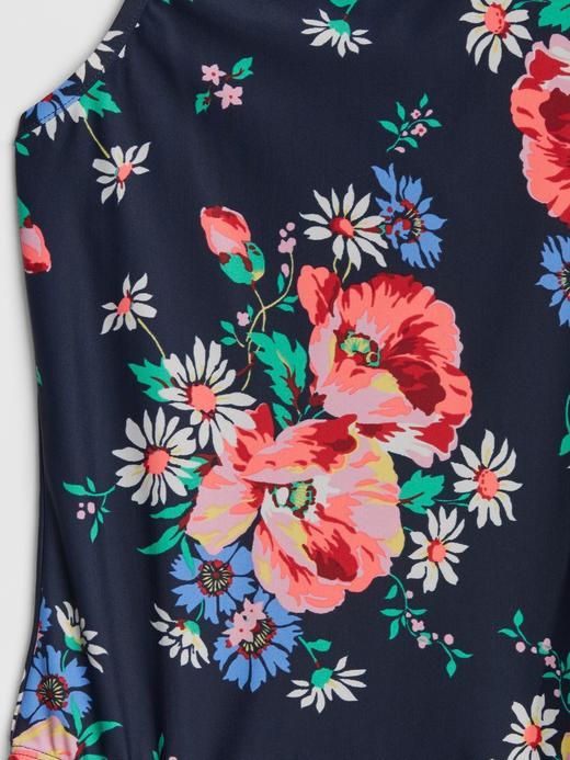 Çiçek Desenli Mayo