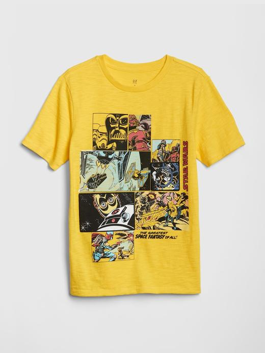 Erkek Çocuk sarı GapKids | Star Wars™ T-shirt
