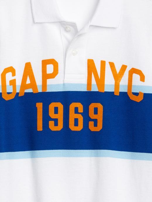 Erkek Çocuk Gap Logo Polo T-shirt