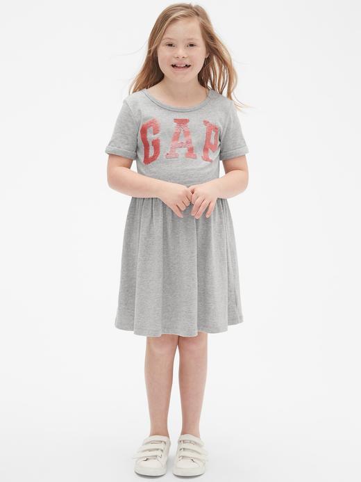 Gap Logo Kısa Kollu Elbise
